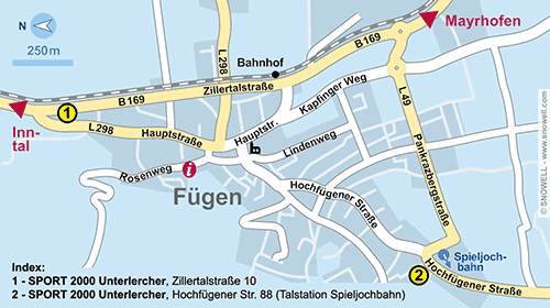 Resort Map Fügen