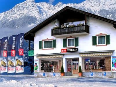 Ski hire shop Skiverleih Garmisch, Garmisch-Partenkirchen in Zugspitzstraße 68